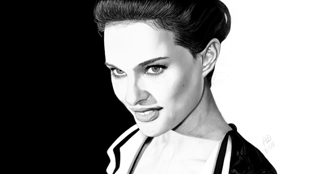 Drawing of Natalie Portman