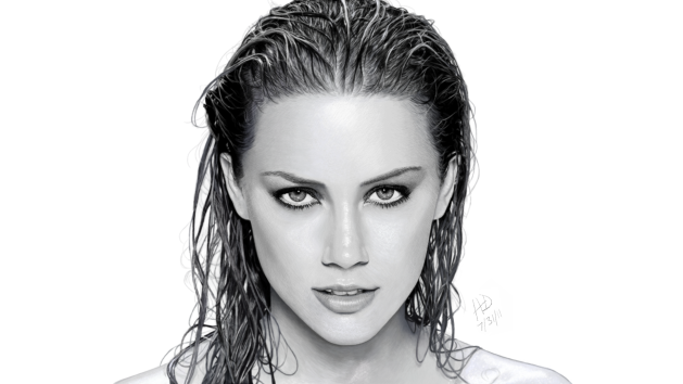 Drawing of Amber Heard