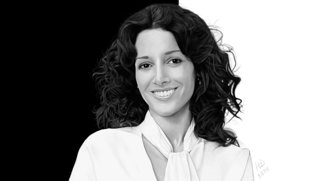 Updated Drawing of Jennifer Beals
